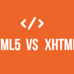 HTML5 vs XHTML comparison by WebSensePro