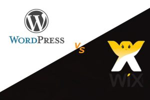 Competition of Wix and WordPress