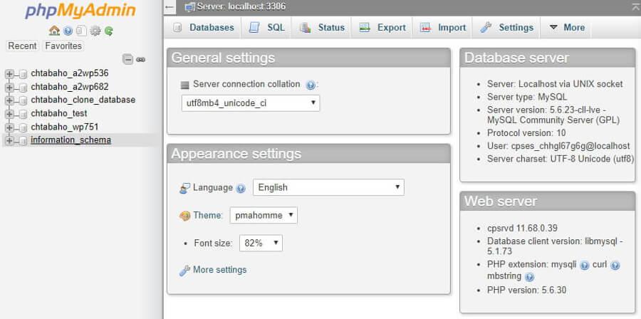 database-list