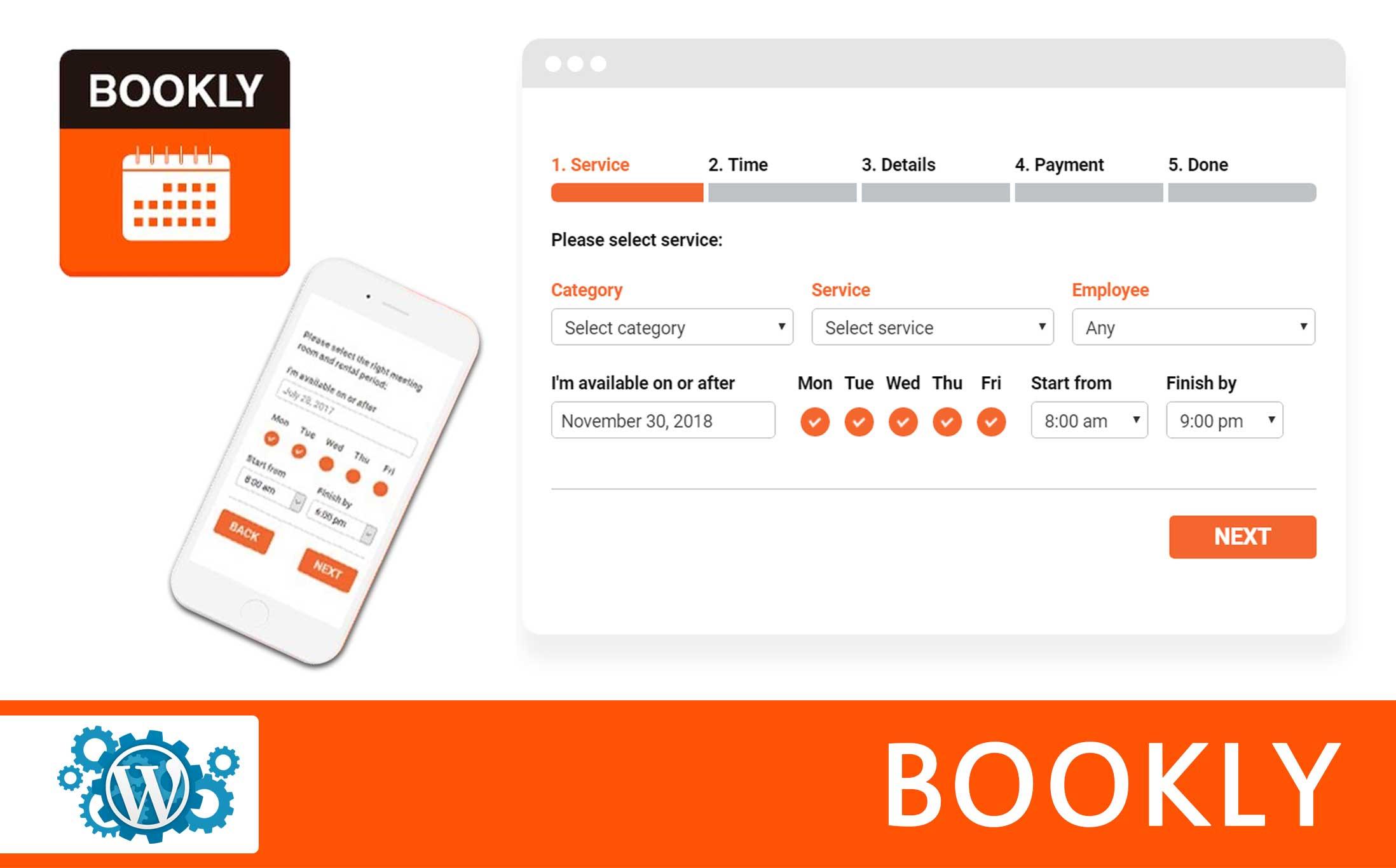 Bookly Booking WordPress