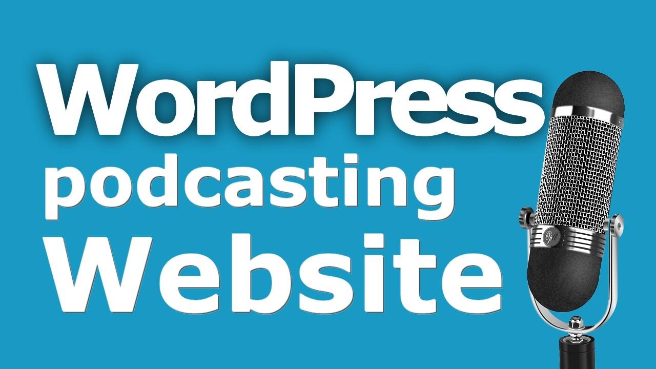 Wordpress-podcast-website - Websensepro